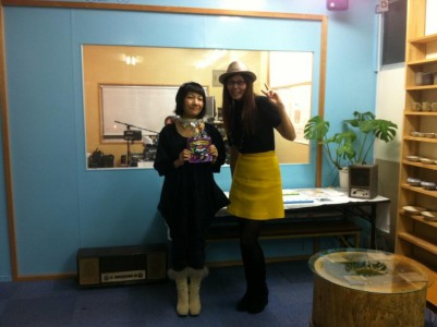 ウオーキングの冨岡先生、ラヂオきしわだにゲスト出演。。