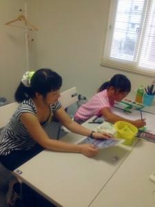 子ども絵画教室☆