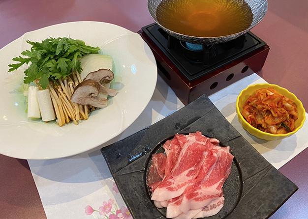 豚キムチ鍋コース