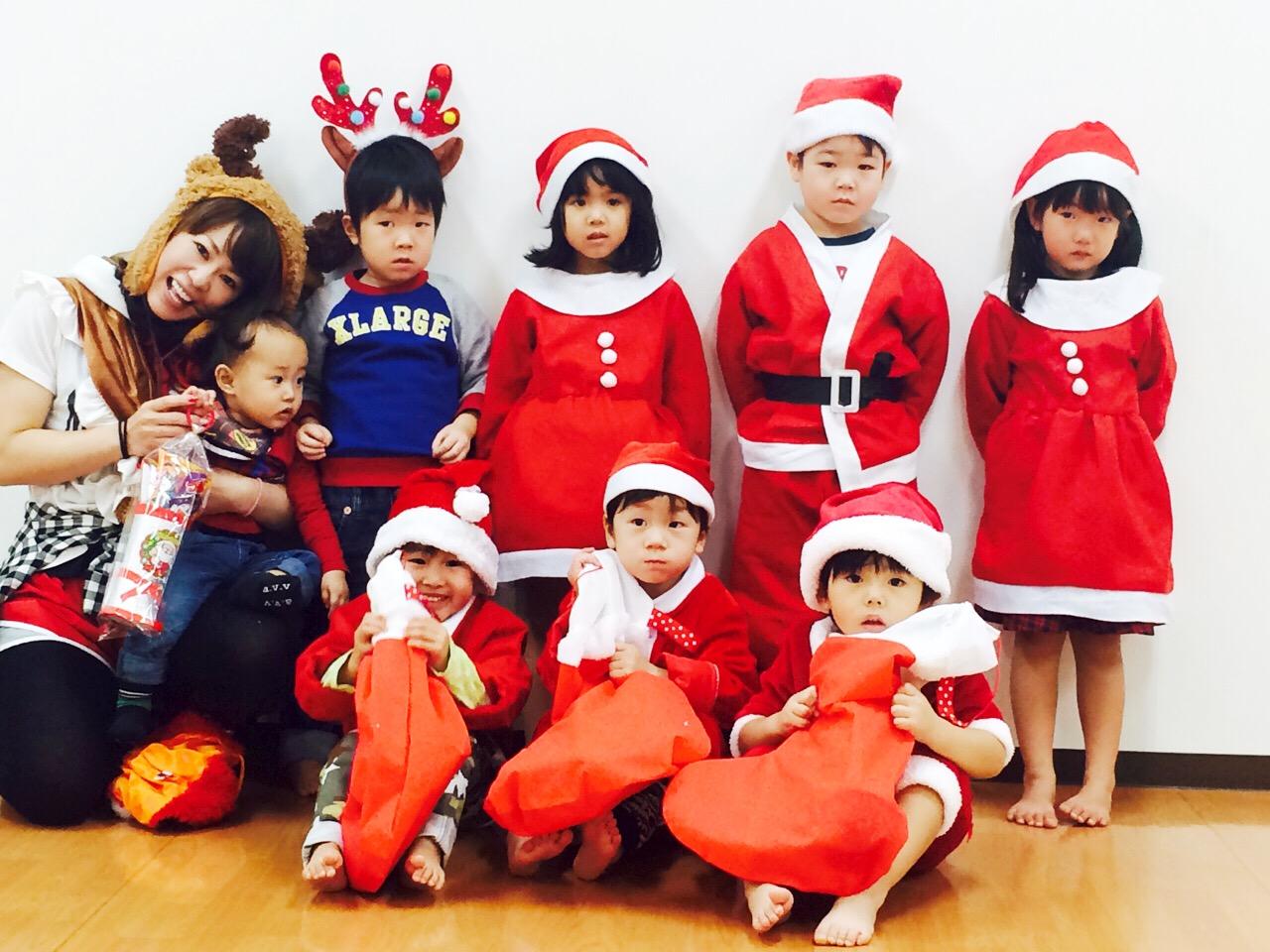 ぴよぴよキッズダンスクリスマス会☆